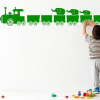 Vinyl Kids wall sticker TINY TRAIN Tiny train Collection by ferm LIVING