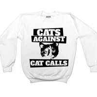 Cats Against Catcalls #3 -- Unisex Sweatshirt