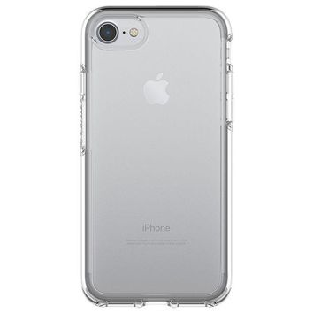 DCK4S2 OtterBox SYMMETRY CLEAR SERIES Case for iPhone 8 & iPhone 7 (NOT Plus) - Retail Packaging - CLEAR
