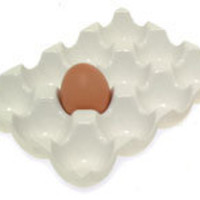 CERAMIC EGG RACK - 12