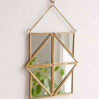 Magical Thinking Geo Sol Mirror- Gold One