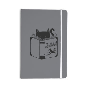 "Tobe Fonseca ""To Kill A Mockingbird"" Gray Cat Everything Notebook"