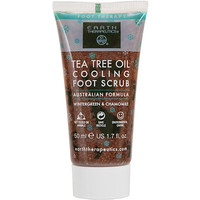 Travel Size Tea Tree Oil Cooling Foot Scrub