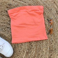 ISLA TUBE TOP- PEACH