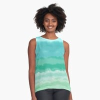 """feels like summer"" Contrast Tank by BillOwenArt 
