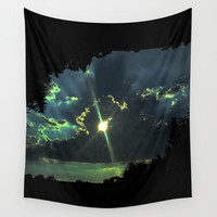 Through the Light Wall Tapestry by ES Creative Designs