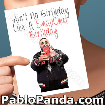 Funny Birthday Card | Dj Khaled Card | Snapchat Birthday For Him Happy Birthday Card  Funny Boyfriend Card Gift For Men  Key To Success Best