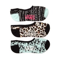 Womens Vans Tribal Liners 3 Pack