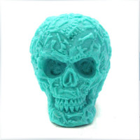 Candle Mold  3D Skull Head Soap Mold Mould Silicone Mold DIY Handmade