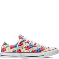 Converse Chuck Taylor All Star Andy Warhol White/Casino Low Top