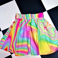 SWEET LORD O'MIGHTY! SO HIGH ACID SK8R SKIRT