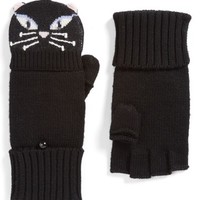 kate spade new york cat convertible wool mittens | Nordstrom