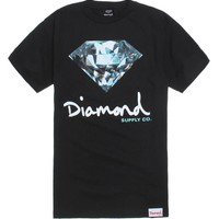 Diamond Supply Co Brilliant Fill Script T-Shirt - Mens Tee