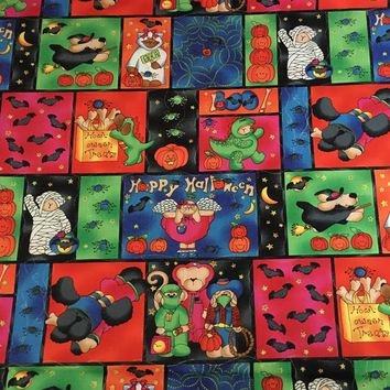 Howl-oween - Grandma's Attic - Cotton Halloween Fabric by SSI - 1/2 yd increments