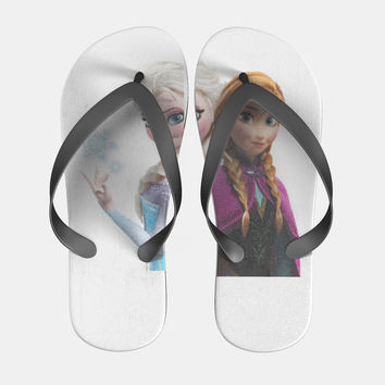 Disney Frozen Anna and Elsa Flip Flops Men Women