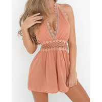Fashion Womens Rompers Ladies Clubwear Lace Playsuits Bodycon Party Chiffon