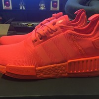 Adidas NMD_R1 Triple Solar Red S31507 size 8 US AUTHENTIC w RECEIPT NMD R1
