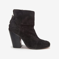 rag & bone Classic Newbury Harley Suede: Asphalt-5. THE BOOTIE-20 MUST HAVES FOR FALL-What To Wear-Categories- IntermixOnline.com