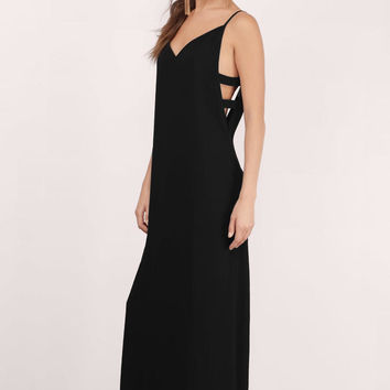 Roxy Cut Out Maxi Dress