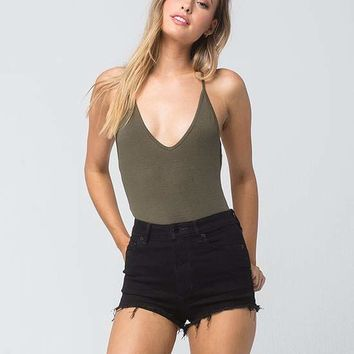 FREE PEOPLE High And Tight Womens Denim Cutoff Shorts | Shorts