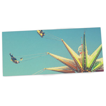 "Libertad Leal ""Flying Chairs"" Desk Mat"