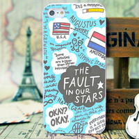 Fault Our Stars Design - iPhone 4/4s/5/5s/5c - iPod 2/4/5 - Samsung Galaxy s2/s3/s4/s5 Case