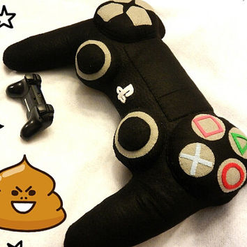 Cute Big PS4 Controller Pillow Plush 25 Inches long!!!