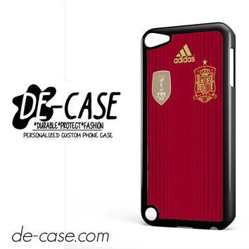 Spain Soccer Jersey For Ipod 5 Ipod Touch 5 Case Phone Case Gift Present YO