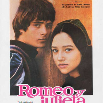 Romeo and Juliet (Spanish) 11x17 Movie Poster (1973)