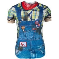 Faux Real - Hillbilly Costume T-Shirt