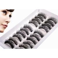 10pairsHigh Quality Thick Long False Eyelashes Extension Handmade Makeup Lashes For Building Eyelash Extension Makeup Eye Lashes