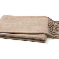 Cashmere Throw, SandA & R CASHMERE