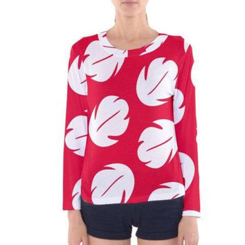 Women's Lilo and Stitch Inspired Long Sleeve Shirt