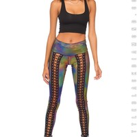 Assassin Leggings in Synesthesia