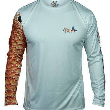 Redfish Long Sleeve Scale Armour – Salty Scales Apparel