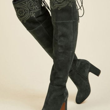 Ennoble Elegance Leather Boot | Mod Retro Vintage Boots | ModCloth.com