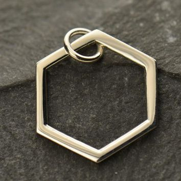 Single Honeycomb Charm