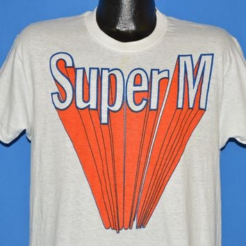 70s Super M Racing Oil Deadstock t-shirt Medium