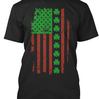 St.Patrick's Day Irish American Flag