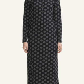 MARIMEKKO PILPA NIGHTDRESS BLACK/GREY