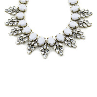 Ivanka Crystal Collar Necklace