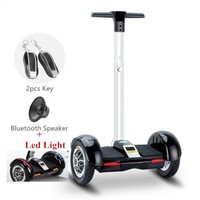 Black Segway Electric Scooter Hoverboard with Handle