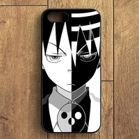 Soul Eater Dead The Kid Black White iPhone 5S Case