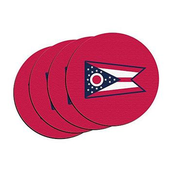 Boelter Brands quotMaryland State Flagquot Neoprene Car Coasters 4Pack