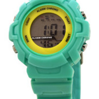 FMD by Fossil Ladie's Standard 3-Hand Analog Plastic Watch