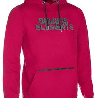 ION Hoody surfing elements 2016 - crimson red