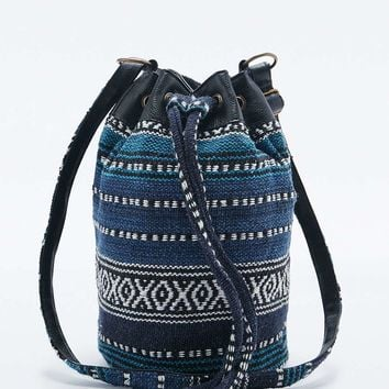 Festival Blue Tapestry Duffle Bag - Urban Outfitters