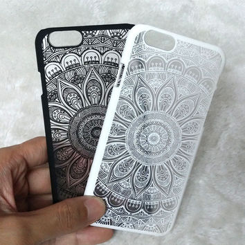 Vintage Lace Floral iPhone 5 5S SE 6 6s iPhone 6 6s Plus Case Cover + Free Gift Box