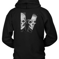 DCCKG72 Twenty One Pilots Skeleton Logo Hoodie Two Sided