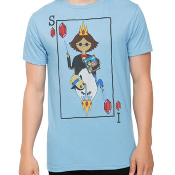 Adventure Time Ice King Simon Card T-Shirt